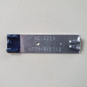Penetrameter (Lochpenetrameter) nach ASTM E 1742, incl. Konformitätszeugnis
