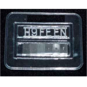 Stufe-Loch-Bildgüteprüfkörper nach ISO 19232-2-H (EN 462-2), incl. Konformitätszeugnis