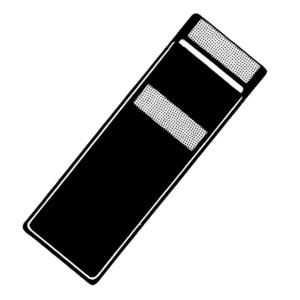 PVC-Kassetten mit Klettverschluss