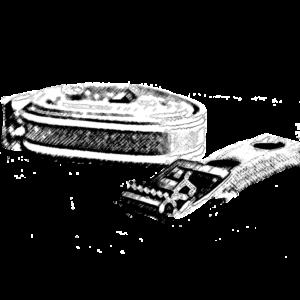 Trägermaterialien, Kassettenhalterungen, Gummibänder, Klebeband